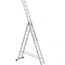 Лестница 3-х секционная Stark SVHR3x11