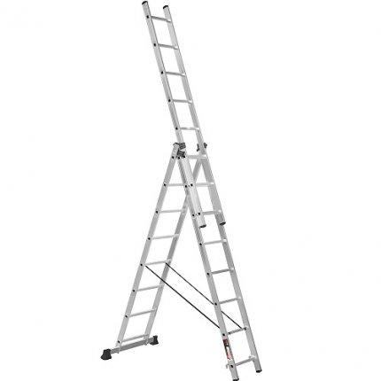 Лестница 3-х секционная Stark SVHR3x8