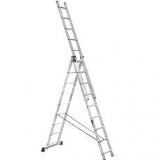Лестница 3-х секционная Stark SVHR3x9