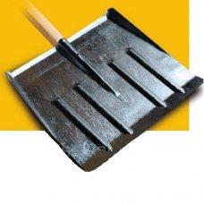 Лопата снегоуборочная оцинкованная 470х400 мм