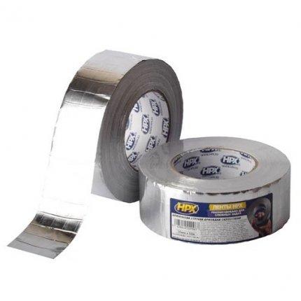 Клейкая лента алюминиевая армированная HPX ALU/ARM5050