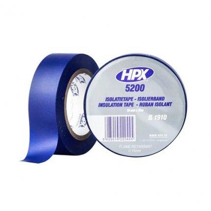 Изолента ПВХ HPX 5200 19мм х10м синяя