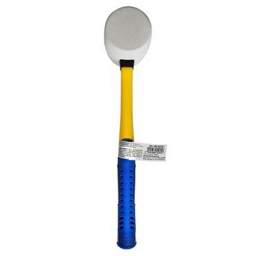Молоток резиновый S&R 55ммх450г белый (285450055)