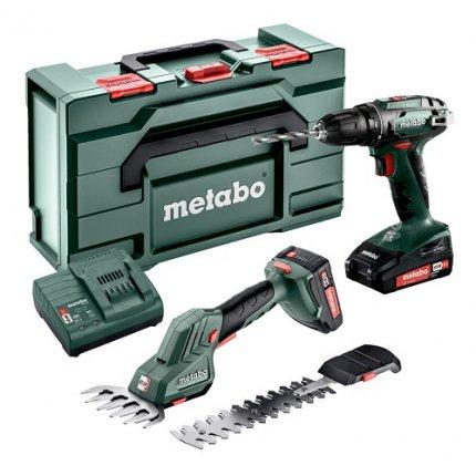 Набор аккумуляторного инструмента METABO Combo Set 2.2.5 18V