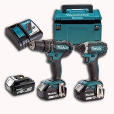 Набор аккумуляторного инструмента Makita DLX2127TJ1