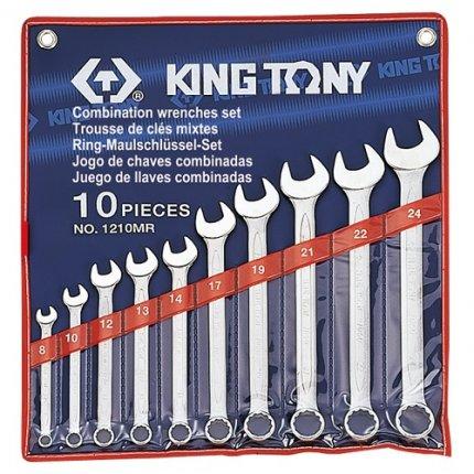 Набор комбинированных ключей KING TONY 1210MR 10шт (8-24мм)