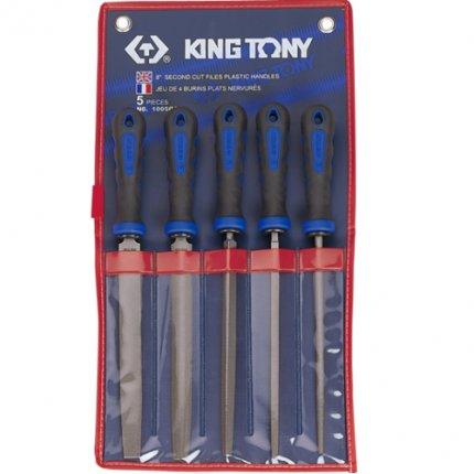 Набор напильников King Tony 200 мм 5 шт.