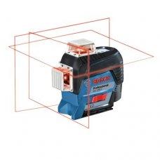 Нивелир лазерный линейный Bosch GLL 3-80 С + аккумулятор