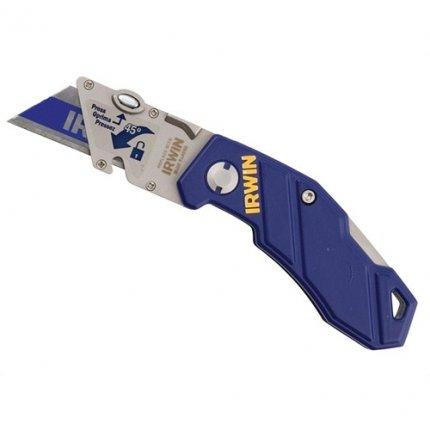 Нож складной с трапециевидным лезвием IRWIN Folding Knife