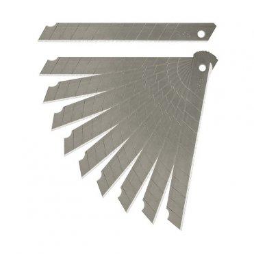Комплект сегментных лезвий S&R SK5 9 мм 10 шт (432011009)