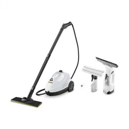 Пароочиститель Karcher SC 2 EasyFix Premium + оконный пылесос WV 2 Premium