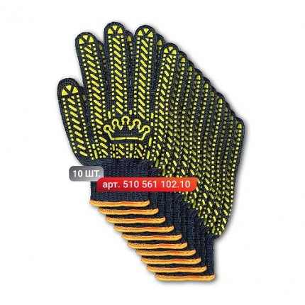 "Набор перчаток Stark ""Корона"" 6 нитей 10 шт."