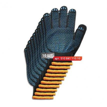 Набор перчаток Stark Black 4 нити 10 шт.