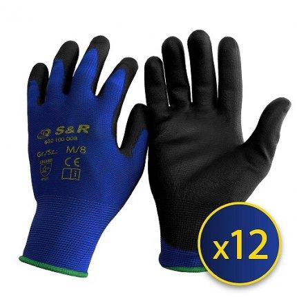 Набор перчаток S&R М/8 нейлоновые 12 шт.