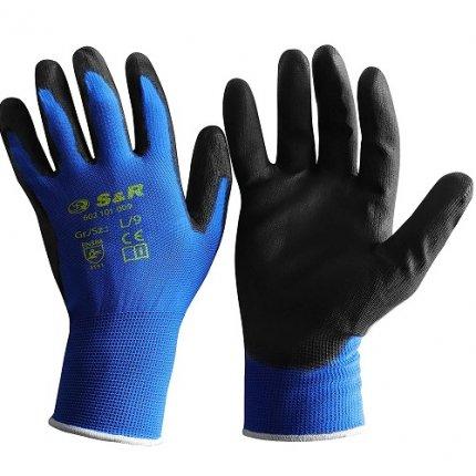 Набор перчаток S&R L/9 полиэстер 12 шт.