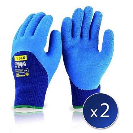 Перчатки утепленные S&R L/9 2 шт.