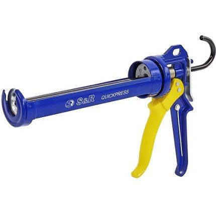 Пистолет для герметика S&R рамочный 225 мм профессиональный