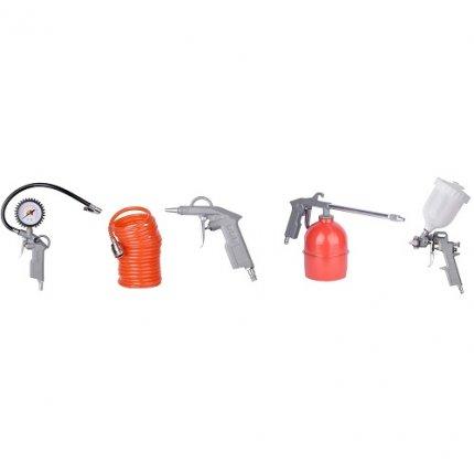 Набор пневмоинструмента EnerSol EPS-5 рабочее давление 0-8 Бар