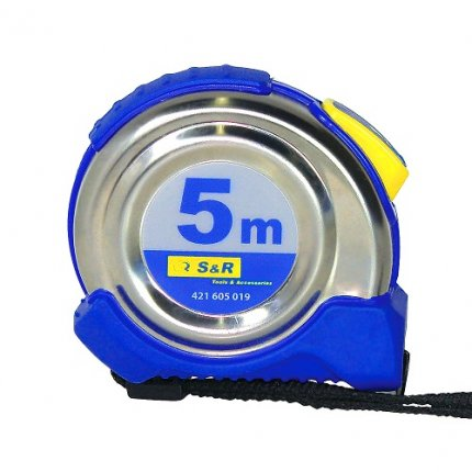 Рулетка S&R 5м Ferro