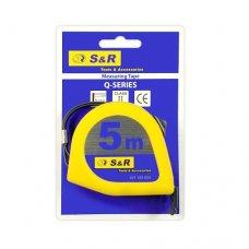 Рулетка S&R 5м серии Q
