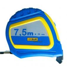 Рулетка S&R Q-point 7,5x25