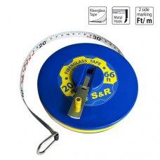 Рулетка S&R Fiberglass Tape 20 м х 13 мм