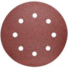 Шлифовальный круг на липучке S&R D190 P80