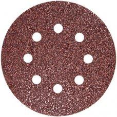 Набор шлифовальных кругов S&R D125 P40 - 8 отверстий, 5 шт.
