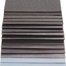 Набор влагостойкой шлифовальной бумаги S&R 60 шт