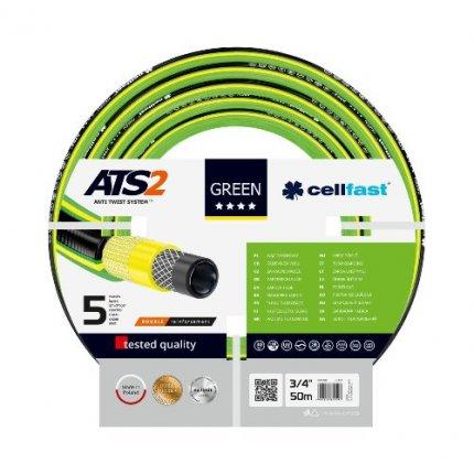 "Шланг садовый Cellfast Green ATS2 3/4"", 50м"