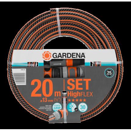 """Шланг Gardena HighFlex 1/2"""" х 20 м + фитинги"""