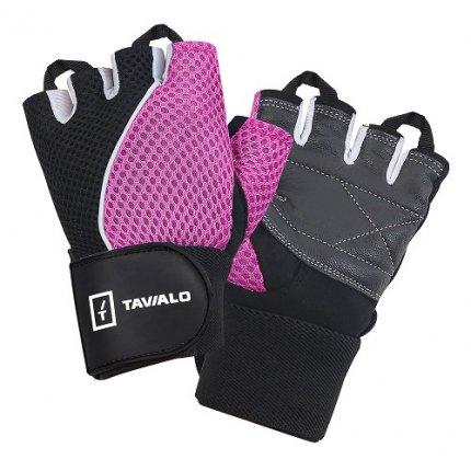 Спортивные перчатки Tavialo Black-Pink M женские