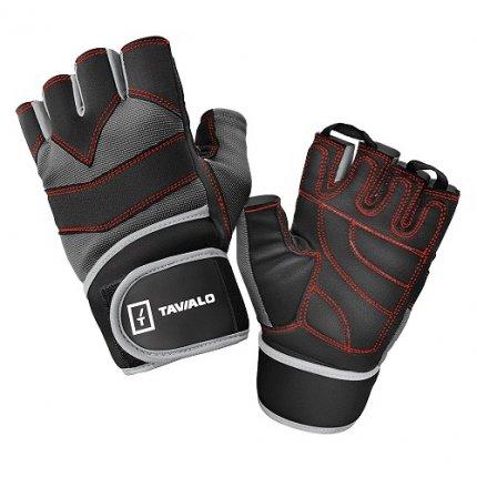 Спортивные перчатки Tavialo Black-Gray L мужские