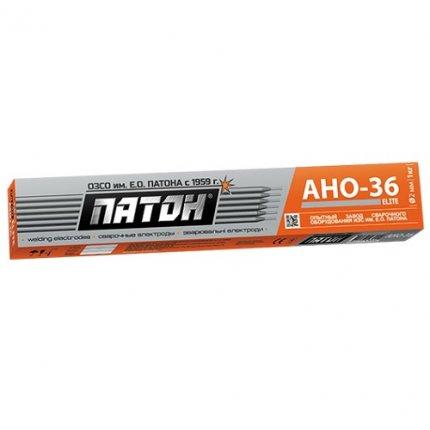 Электроды Патон ELITE (АНО-36) ф. 3 мм 5 кг