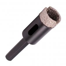 Сверло с алмазным напылением Baumesser DDR-V 20x30 мм S10 Keramik Pro