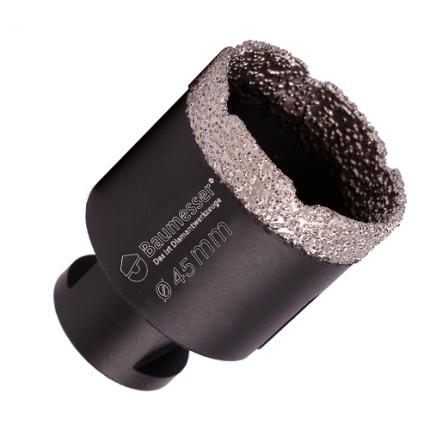 Сверло с алмазным напылением Baumesser 45x30хM14 мм Keramik Pro