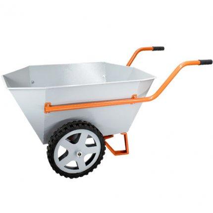 Тачка строительно-садовая Gruntek Профи 2-200 Kapro (200 л, 400 кг)