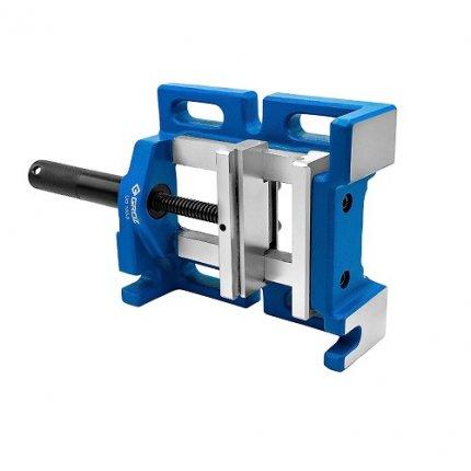 Сверлильные высокоточные тиски с универсальным захватом трехсторонние GROZ DPV/UG/3/100 100x92x30 мм 35125