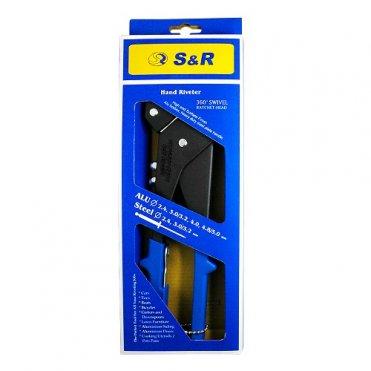Ключ заклепочный S&R 280мм с поворотной головкой (284240901)