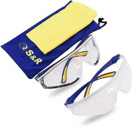 Очки защитные S&R спортивной формы 2 шт.