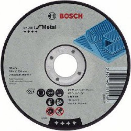 Круг отрезной по металлу Bosch A 36 R BF 350