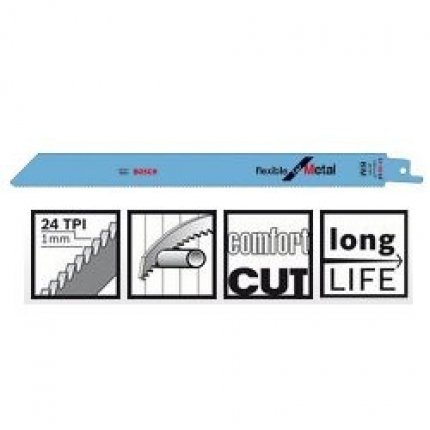 Пильное полотно Bosch Flexible for Metal S 1122 AF 5шт