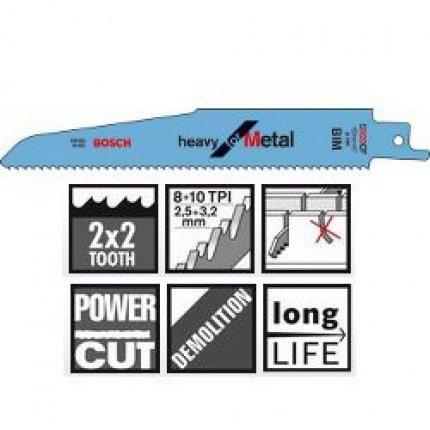 Пильное полотно Bosch Heavy for Metal S 920 CF 5шт