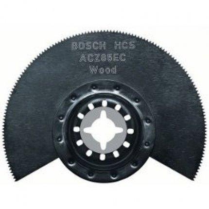Сегментный пильный диск Bosch ACZ 85 EC HCS Wood