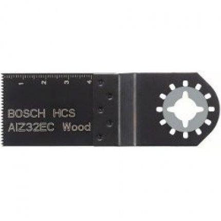 Погружное пильное полотно Bosch AIZ 32 EC Wood