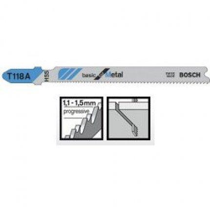 Пильное полотно Bosch Basic for Metal T 118 A 1шт