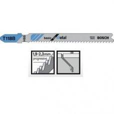 Пильное полотно Bosch Basic for Metal T 118 B 5шт