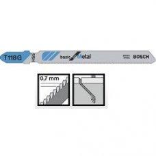 Пильное полотно Bosch Basic for Metal T 118 G 5шт