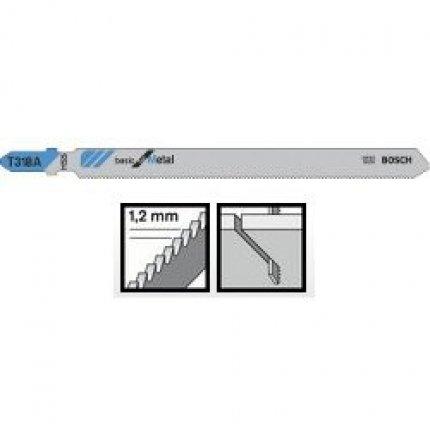 Пильное полотно Bosch Basic for Metal T 318 A 5шт