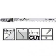 Пильное полотно Bosch Clean for Wood T 101 B 1шт